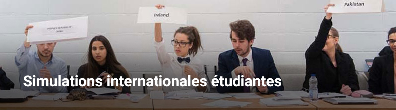 Simulations internationales étudiantes
